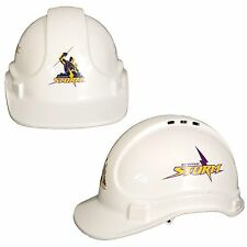 Melbourne Storm NRL Light Weight Vented Safety Hard Hat Work Man Cave