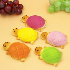 Jumbo Squishy Bread Scented Turtle Phone Charms Slow Rising Bun Soft Straps Toys