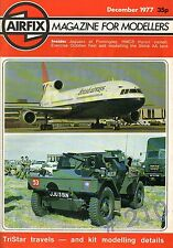 SKINK AA TANK CONVERSION - TRISTAR - AIRFIX Magazine for Modellers December 1977