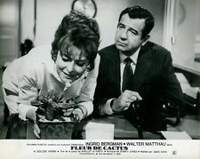INGRID BERGMAN WALTER MATTHAU CACTUS FLOWER 1969 VINTAGE PHOTO ORIGINAL #4