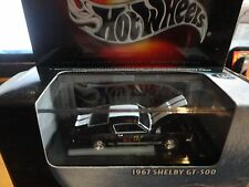 Hot Wheels 100% Black Box Black 1967 Shelby GT-500 Mustang w/Ebay Logo w/RR's