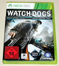 WATCH DOGS - SPECIAL EDITION - 100% UNCUT - XBOX 360 - DVD BOX