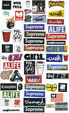 Supreme Classic Box Logo 54 X Skateboard Stickers Car Vinyl Decal Laptop Sticker