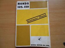 Werkstatthandbuch service manual Honda C92 CS92 CB92 C95 CA95 (125cc/150cc)