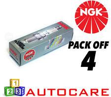 NGK LASER PLATINUM SPARK PLUG Set - 4 Pack-Part Number: pfr6t-10g No. 5542 4PK