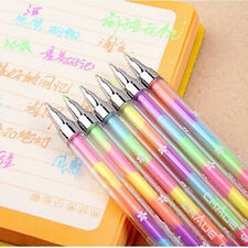 Cheap 1X Cute Highlighter Pen Marker Stationary Point Pen Ballpen 6Color UK03