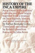 History of the Inca Empire: An Account of the Indians' Customs and The-ExLibrary
