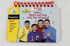 Leap Frog MY FIRST LeapPad Learn Dance And Sing With The Wiggles Book ONLY