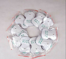 10pc Adhesive EMS Tens Electrode Pad Guasha Scupping Massager Muscle Stimulator