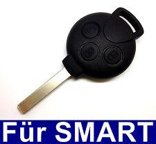 3Tasten Voiture clé vierge enceinte pour 451 Smart ForTwo, ForFour Routes