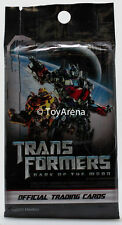 1 Sealed Pack Transformers Dark of The Moon Official Trading Cards Game Hasbro