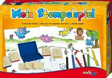 game for children Mein Rubber stamp 49109 from 4 years old Noris NIP
