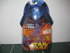 Star Wars Exclusive HoloGraphic Yoda Figure Revenge of The Sith