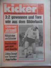 KICKER 73 - 11.9. 1980 * Schweiz-Deutschland 2:3 B 2:0 Bernd Schuster Eishockey