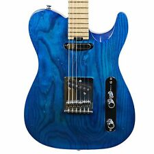 2016 CHAPMAN ML-3T TRADITIONAL ELECTRIC GUITAR TRANS BLUE BARE KNUCKLE PICKUPS