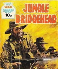 A Fleetway War Picture Library Pocket Comic Book Magazine #1194 JUNGLE BRIDGEHEA