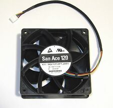 Sanyo Denki 120mm x 38mm Ultra High Airflow Fan 4 Pin PWM 224 CFM 9GV1212P1J091
