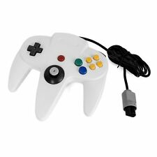 White Long Controller Game System for Nintendo 64 N64 New