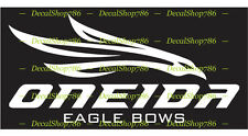 Oneida Eagle Bows - Hunting/Outdoor Sports - Vinyl Die-Cut Peel N' Stick Decals