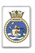 HMS MERMAID FRIDGE MAGNET