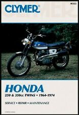 CLYMER SERVICE MANUAL M322 HONDA CB350 CL350 1968 1969 1970 1971 1972 1973 350