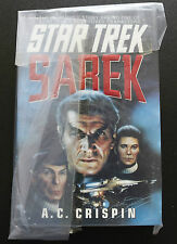STAR TREK TOS SAREK 1ST EDITION HARDBACK BOOK NOVEL (1994)