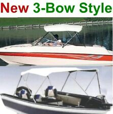 "70""-78"" Boat Bimini Top Cover,3-Bow Folding Frame,Pontoon,Wholesale,New"