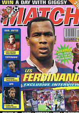 FERDINAND / MAN UTD / SPURS / QPR / LIVERPOOL Match Oct 14 1995