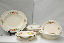 Vintage 1937 Alfred Meakin Royal Marigold Lot of 8 Pieces