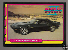 1973 PONTIAC FIREBIRD TRANS AM SD-455 V8 Muscle Car Photo 1992 TRADING CARD