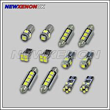 Ford Focus II MK2-Bombillas Led Luz De Coche Interior Kit-Xenon Blanco