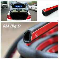 800CM Car Truck Motor Door Big D-shape Rubber Moulding Seal Weather Strip Hollow