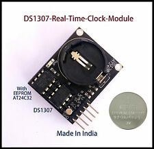 DS1307-Real-Time-Clock-Module-I2C-RTC-AT24C32-for-Arduino-AVR-ARM-PIC with Batry