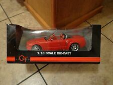 2004 BEANSTALK GROUP--RED MUSTANG GT CONVERTIBLE CAR (NEW) 1 18 SCALE