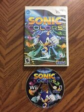 Sonic Colors (Nintendo Wii, 2010) No Manual