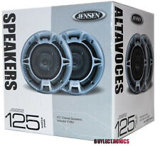 "JENSEN JS652 6.5-INCH 6-1/2"" CAR AUDIO 2-WAY COAXIAL SPEAKERS (PAIR)"