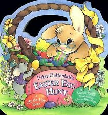 Peter Cottontail's Easter Egg Hunt by Joseph R. Ritchie (2004, Board Book)