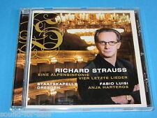 Luisi, Harteros / Strauss: Eine Alpensifonie, Vier letzte Lieder - CD
