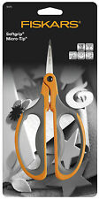 Fiskars 18cm Micro Tip Big Loop Handle Stem Trim Scissors F9476