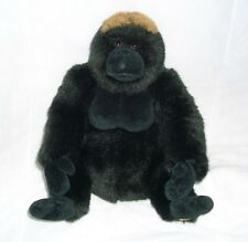 GANZ WEBKINZ SIGNATURE WESTERN LOWLAND GORILLA GOLD STUFFED ANIMAL PLUSH TOY APE