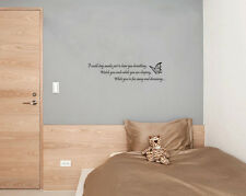 Aerosmith I Don't Wanna Miss A Thing Song Lyrics Wall Art Decal Sticker Picture