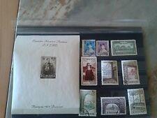 Briefmarken Rumänien 1928,1931,1932,1963 Jahre. MLH KW 124€