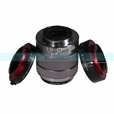 Auto Focus Macro Extension Tube Lens Adapter Ring for Sony E-Mount NEX A7 A7R