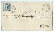 FRANCOBOLLI 1863 REGNO 15 CENTESIMI LITOGRAFICO I TIPO GUARDAGRELE 2/7 D/7314