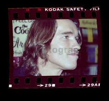 Arnold Schwarzenegger Vintage 35mm Camera Negative Peter Warrack w/ © Transfer