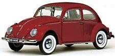 1961 VOLKSWAGEN BEETLE SALOON RUBY RED 1/12 DIECAST MODEL CAR BY SUNSTAR 5210