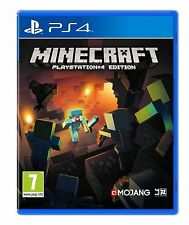 MINECRAFT - Playstation 4 PS4 - NEW & SEALED - FREE UK POST
