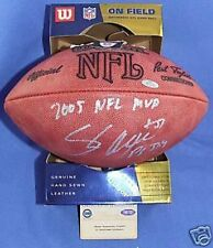 SEATTLE SEAHAWKS SHAUN ALEXANDER AUTOGRAPHED AUTO 2005 NFL MVP STEINER FOOTBALL