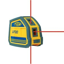 Spectra Precision LP30 Laser Level 3 Beam Point Generator wCarrying Case Trimble
