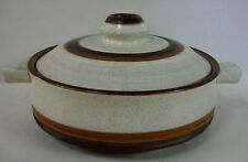 Denby POTTER'S WHEEL 1 Qt Covered Casserole with Lid  RUST RED